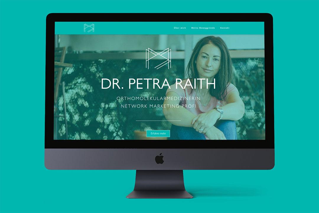 Dr. Petra Raith Homepage